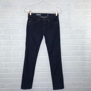 AG The Stevie Slim Straight Dark Wash Jeans 25P
